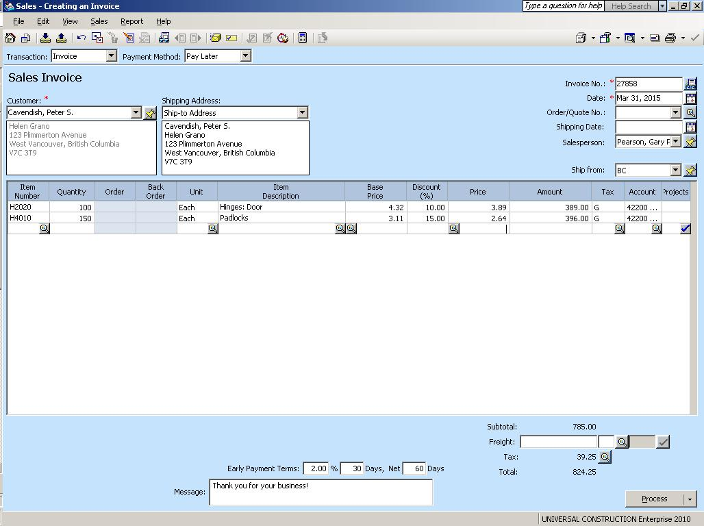 No discount field in crystal reports for quote order for Sage line 50 invoice template
